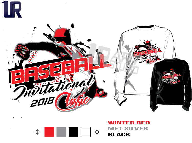 BASEBALL-INVITATIONAL-or-CLASSIC-tshirt-vector-design-separated-4-color