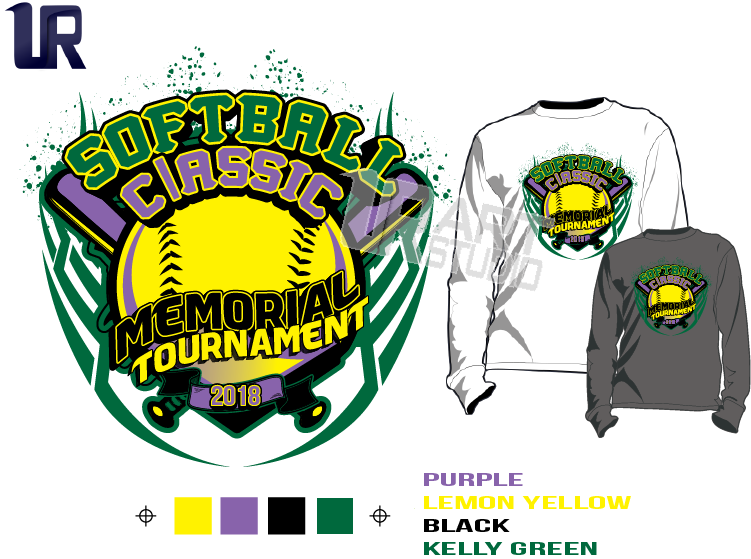 WE CAN DO SIMILAR DESIGN FOR YOUR SOFTBALL EVENT