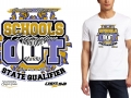 6 and 7th logo - southaven shootout, schools out celebration - Amy baseball