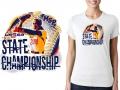 baseball logo design tshirt USSSA State Championship