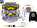 SOFTBALL WELCOME TO OUR NIGHTMARE INVITATIONAL tshirt vector design separated 5 color