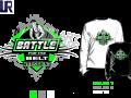 WRESTLING BATTLE FOR THE BELT tshirt vector design separated 4 color