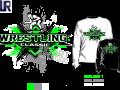 WRESTLING tshirt vector design separated 4 color