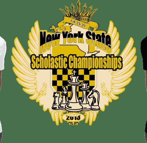 Amazing apparel logo design for chess championship tshirt design