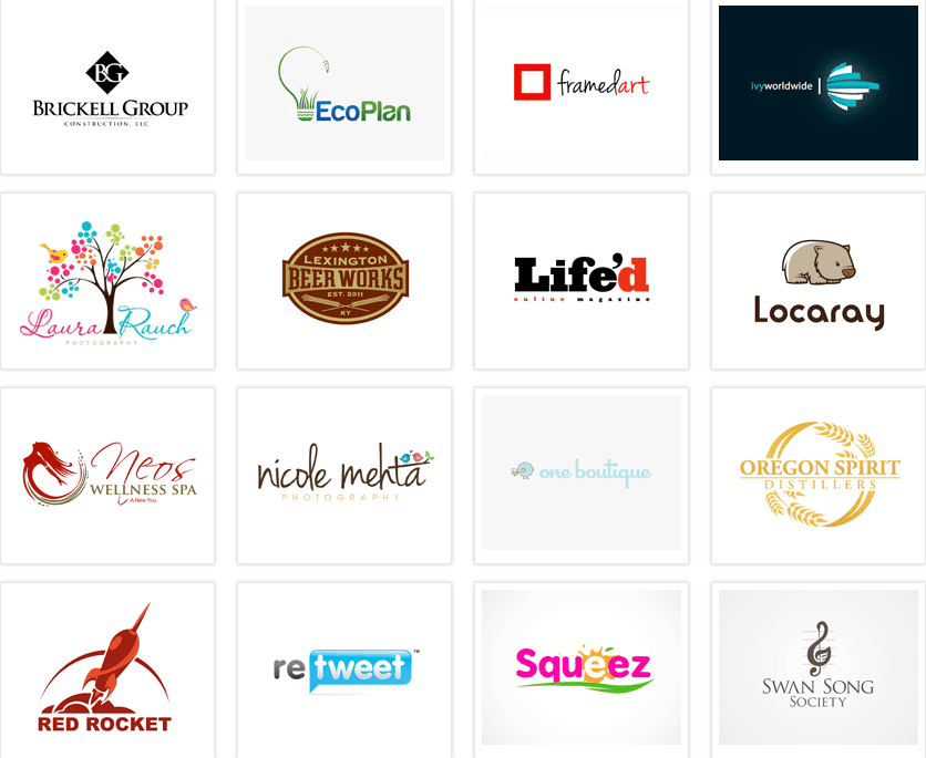 MULTIPLE LOGO DESIGNS