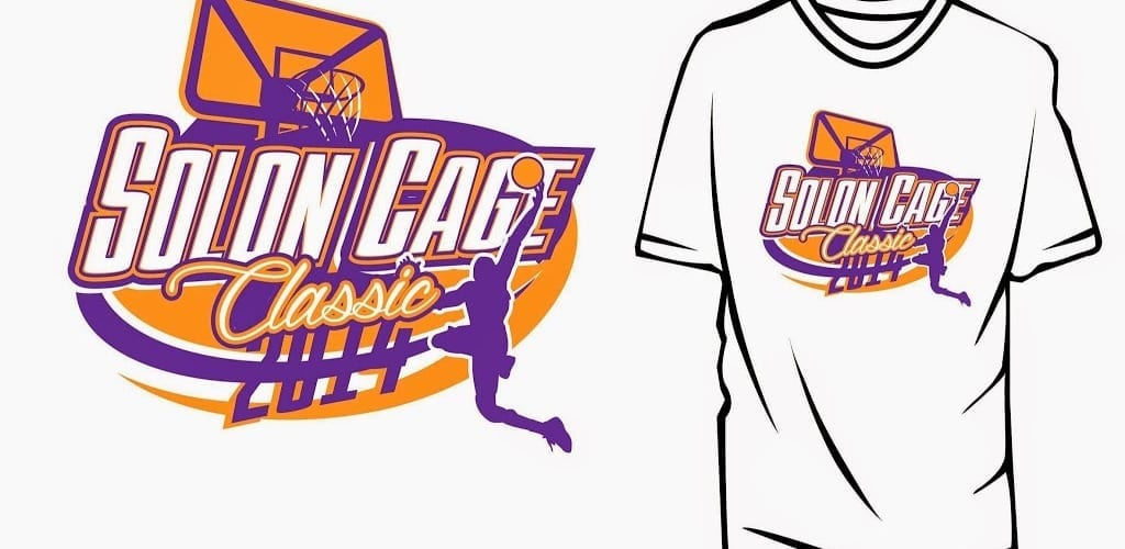 basketball logo design for tshirt