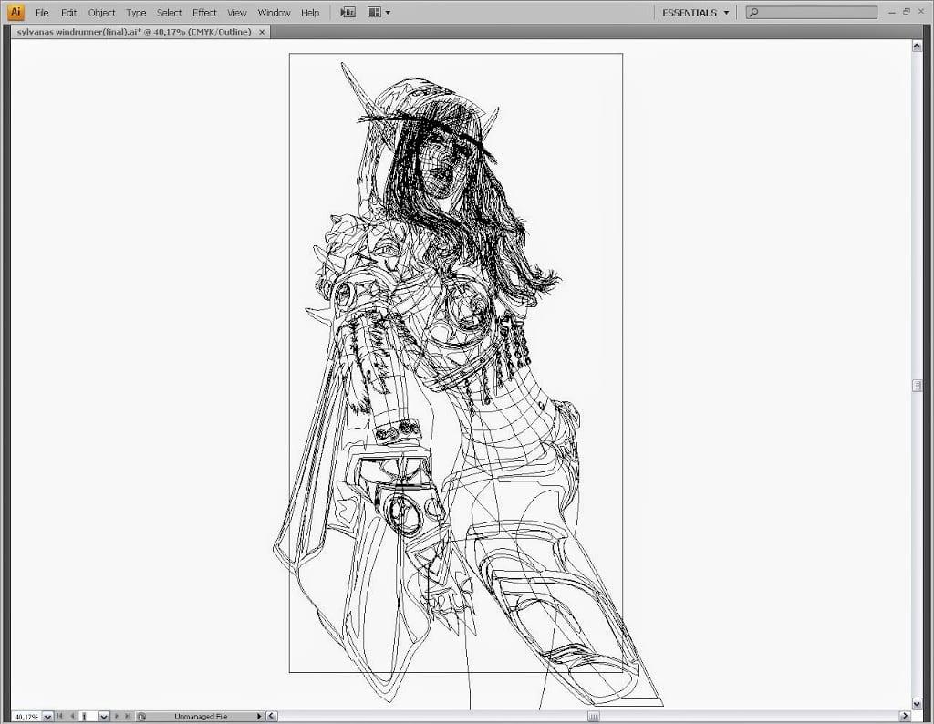 Adobe Illustrator Sketch 2