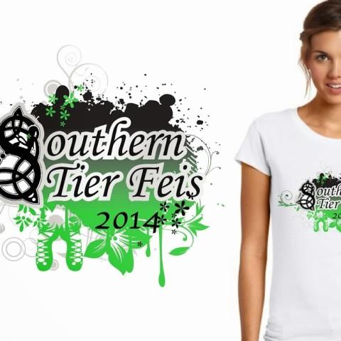 Feis tshirt design vector art