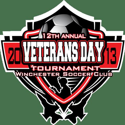 Veteran's Day soccer logo for apparel