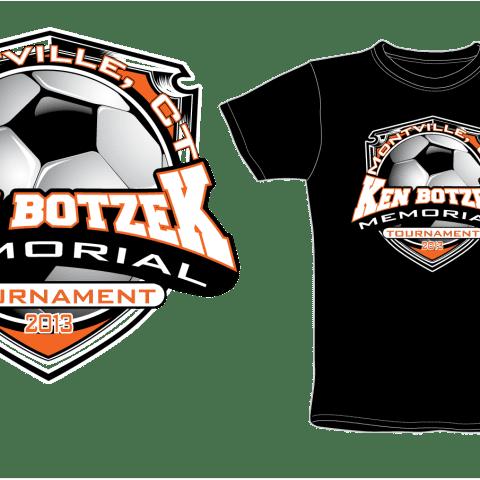 Amazing apparel logo design for soccer tshirt design