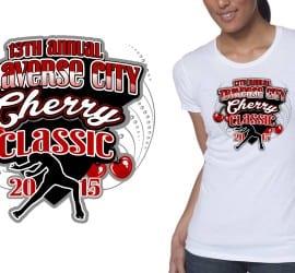 T-Shirt Logo design for girls gymnastics