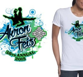 2015 Akron Feis, The 38th Annual tshirt design