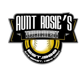 Vector logo design for tshirt 2015 Aunt Rosie's International Softball Event