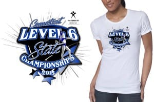 2015 CT Level 6 State Championship Gymnastic Vector Tshirt Logo Design