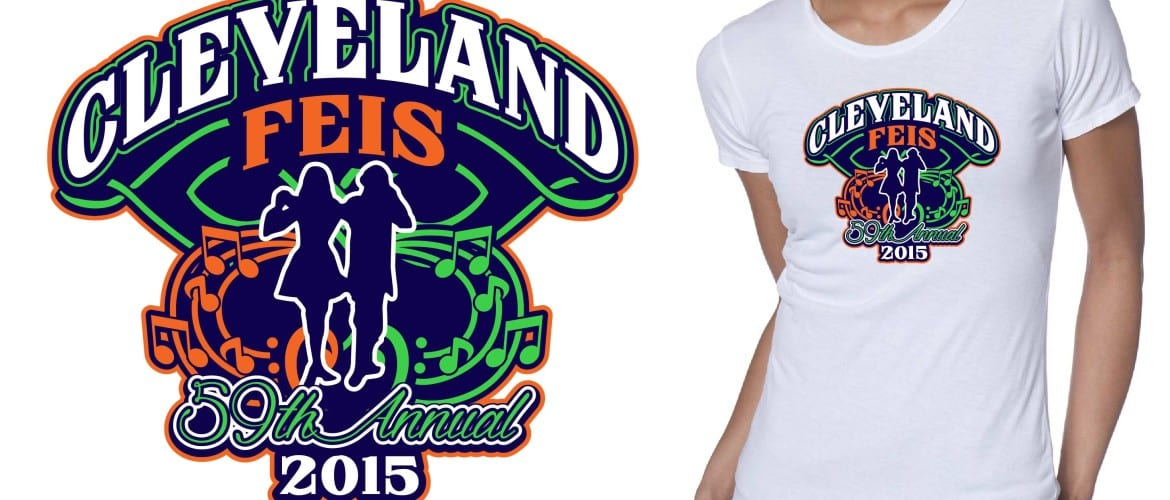 2015 Cleveland Feis (the 59th Annual) tshirt design