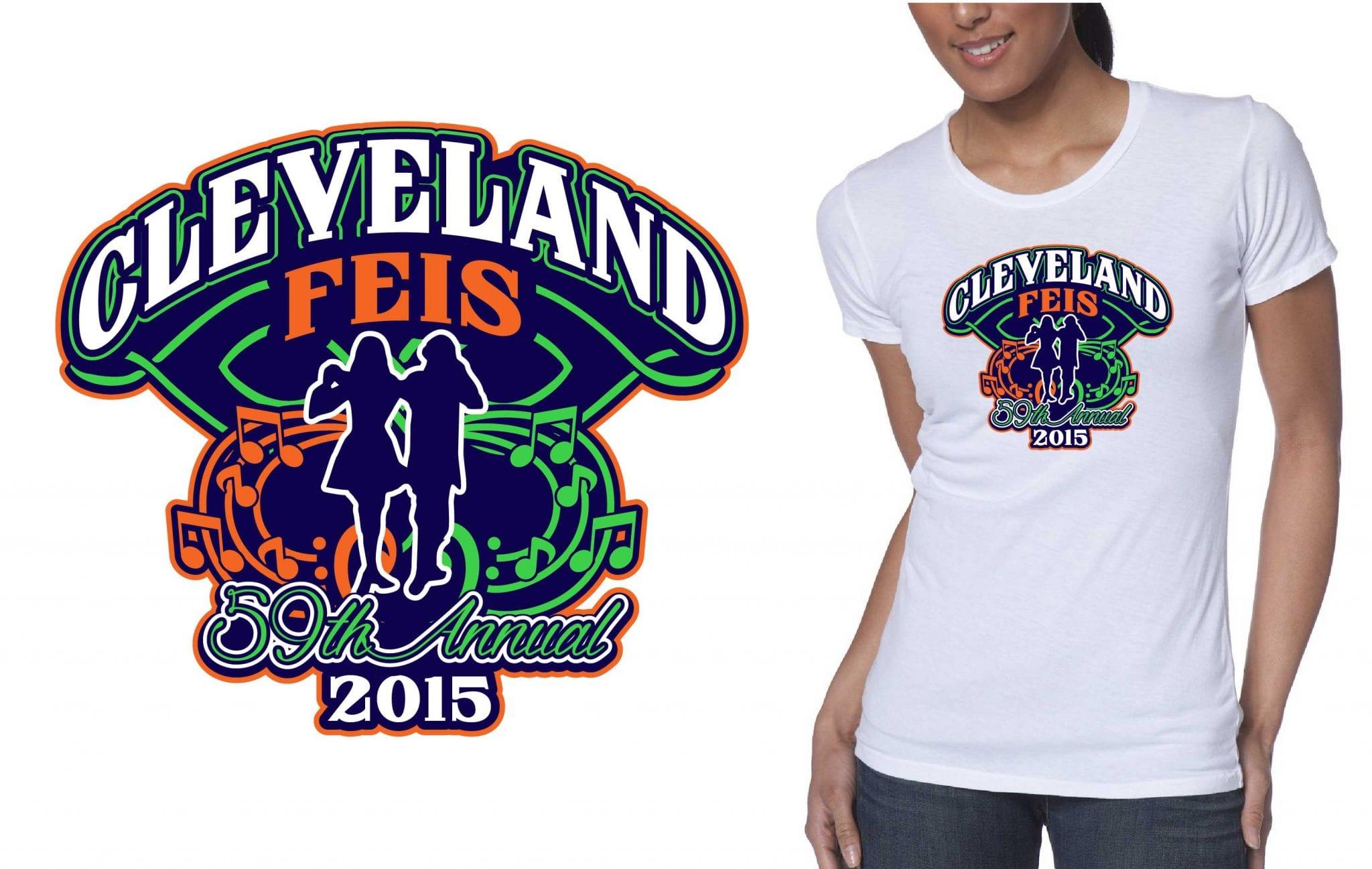 2015 Cleveland Feis (the 59th Annual) tshirt design