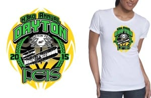2015 Dayton Feis, 42nd Annual tshirt design