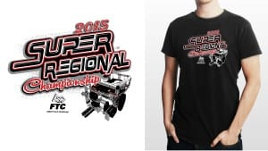 2015 FTC West Super- Regional Championship awesome robotics tshirt vector logo design