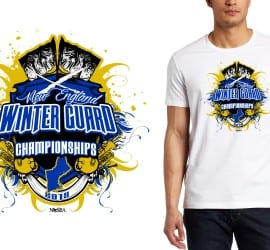 2015 New England Winter Guard Championships tshirt design