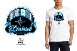 2015 Rhode Island District t shirt logo design by Ur Art Studio