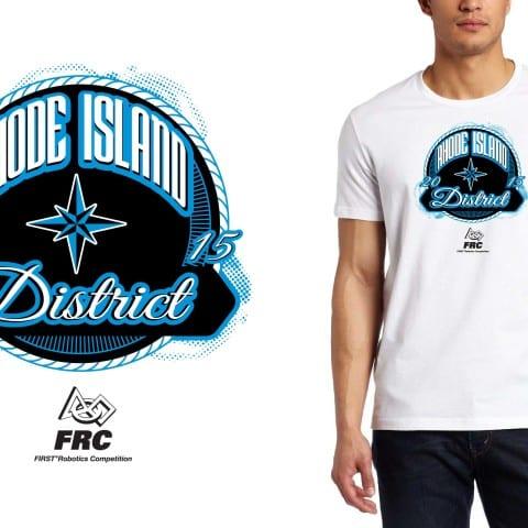 2015 Rhode Island District t shirt logo design for robotics event by Ur Art Studio