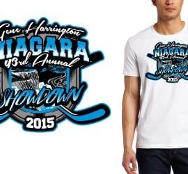 2015 Niagara Showdown HOCKEY TSHIRT LOGO DESIGN