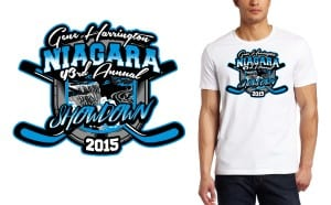 2015 Niagara Showdown HOCKEY TSHIRT LOGO DESIGN