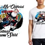 My Official Christmas Shirt for AMA PRO FLAT TRACK TSHIRT DESIGN