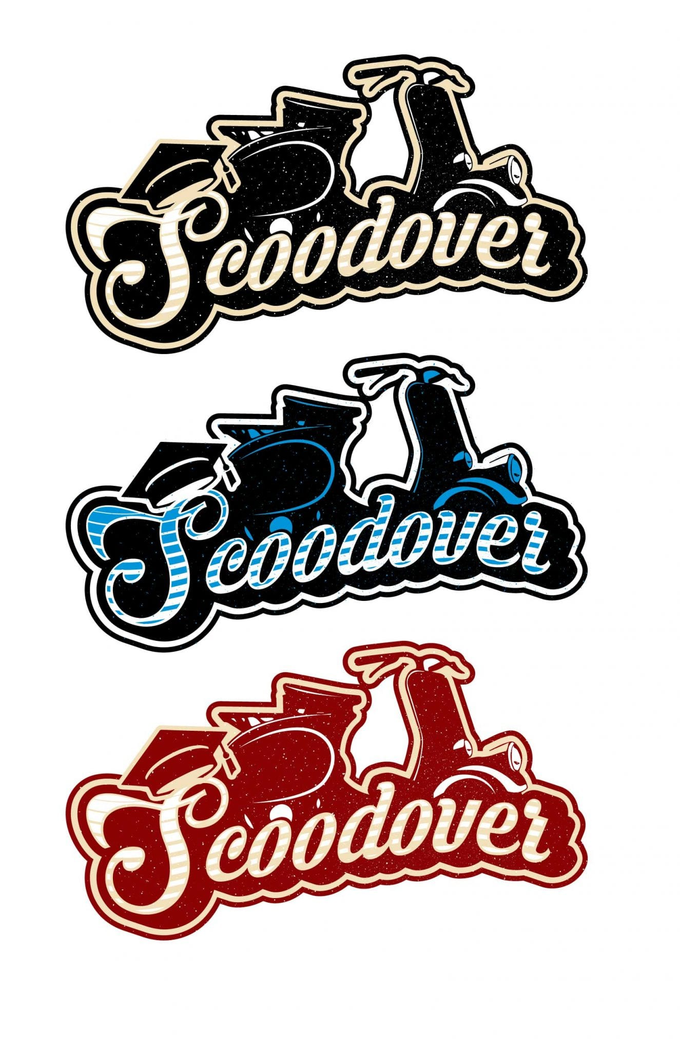 Scoodover cool logo design