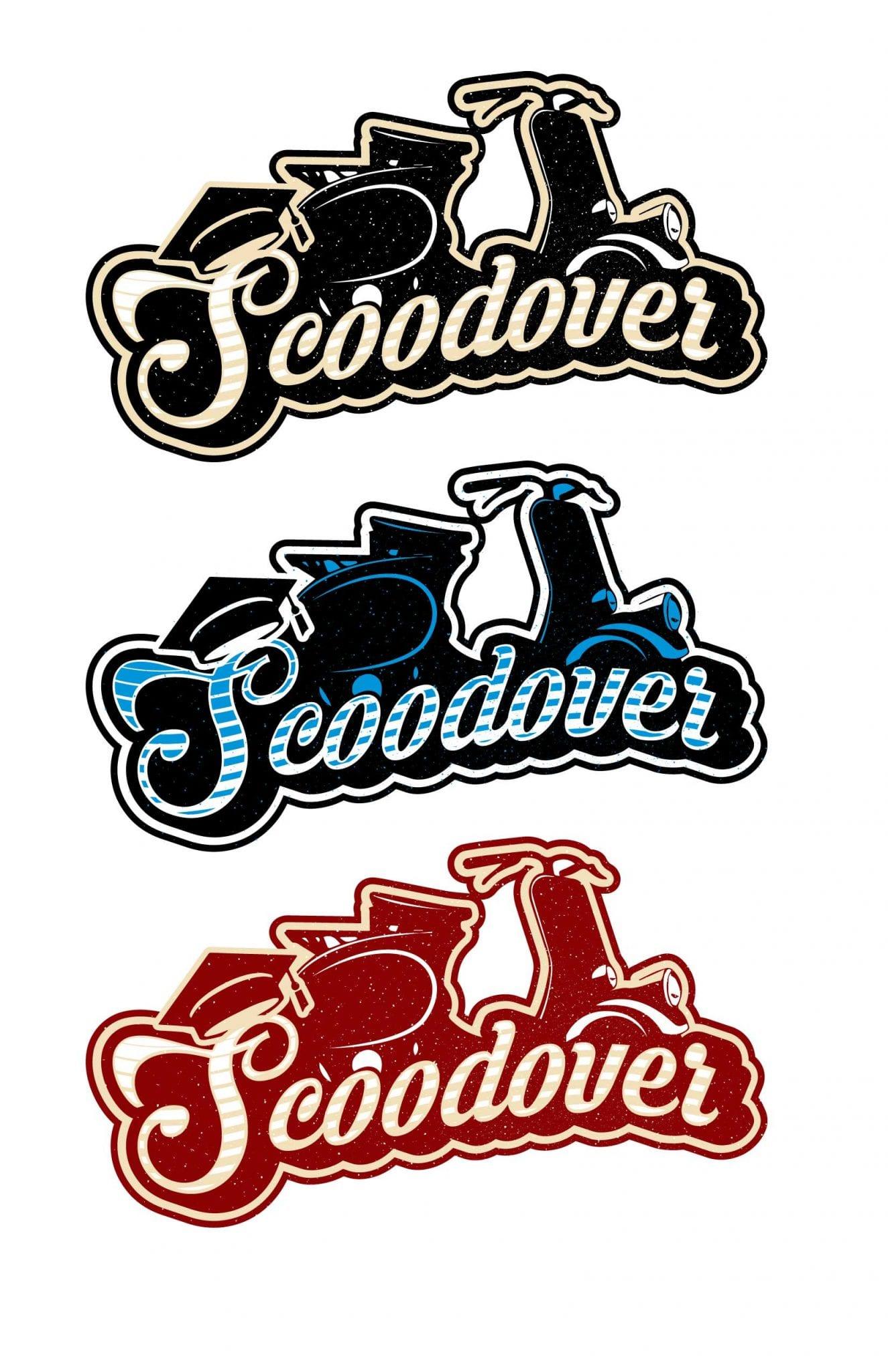 Scoodover cool logo design