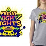 Shirt Vector Logo Design for cheer and dance event called 2015 Friday Night Lights