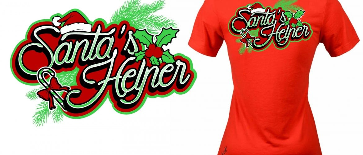 Eyecatching vector logo design for t-shirt for 2015 Holly Feis event