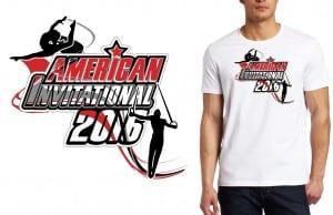 2016 American Invitational logo design for gymnastics event