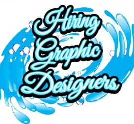 WE ARE HIRING GRAPHIC DESIGNERS