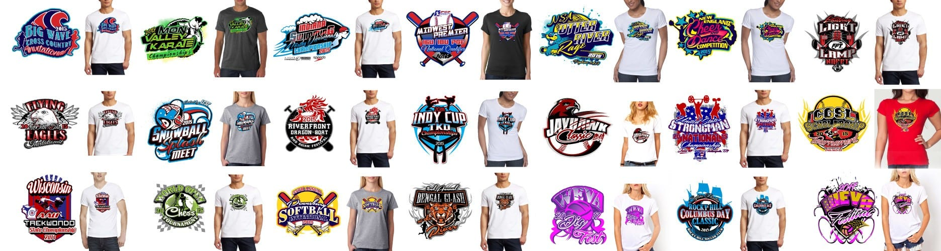 WE WILL DESIGN AWESOME TSHIRT LOGO FOR YOUR EVENT TODAY