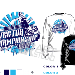 Wrestling-tournament-tshirt-vector-design-for-print-2