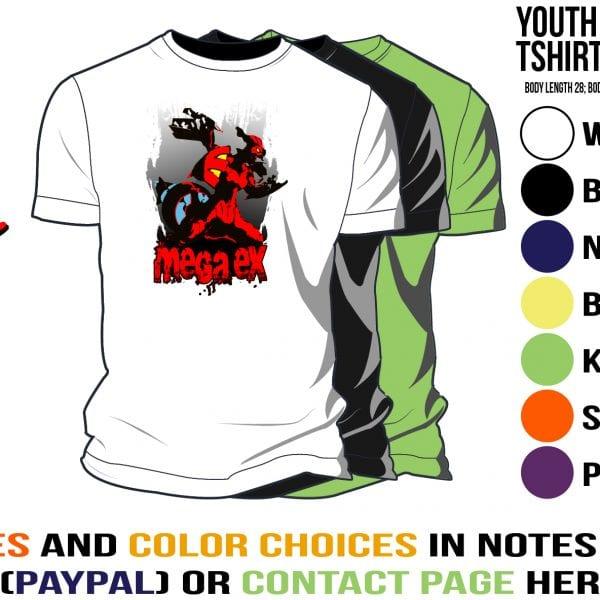 tshirt with megaex design pokemon
