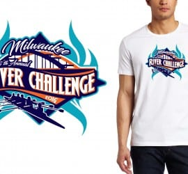 PRINT 9 17 16 16th Annual Milwaukee River Challenge ed VECTOR DESIGN FOR rowing