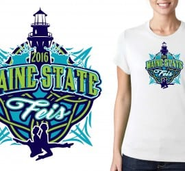 CUSTOM VECTOR LOGO DESIGN FOR PRINT RUSH July23 2016 Maine State Feis Carlene Stillson FEIS EVENT