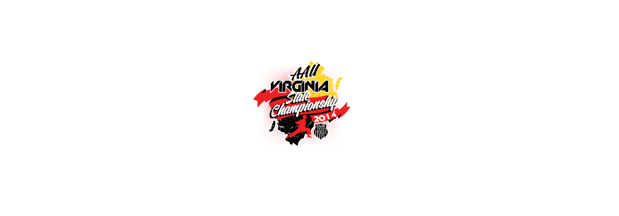 VECTOR LOGO DESIGN FOR PRINT AAU VIRGINIA STATE CHAMPIONSHIP MARTIAL ARTS EVENT