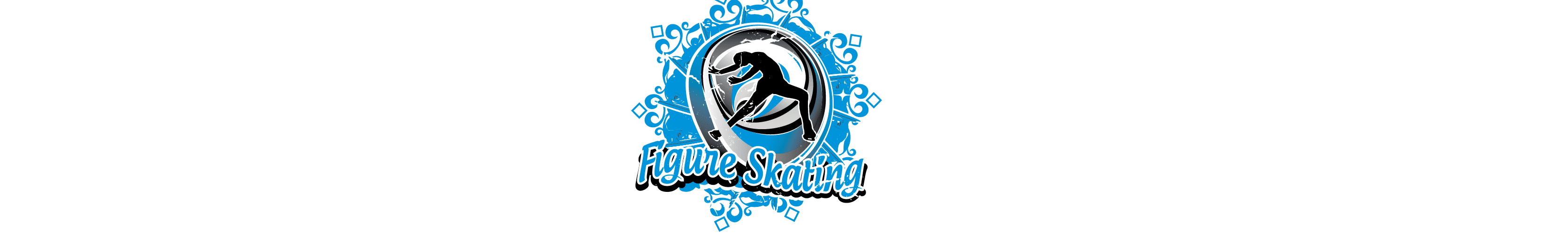 VECTOR LOGO DESIGN FOR PRINT FIGURE SKATING EVENT