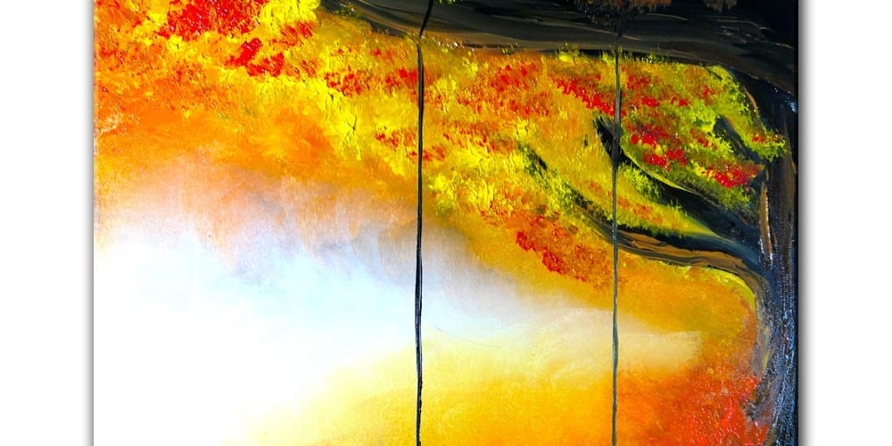FREE ART VIDEO LESSON PAINTING_AUTUMN_THEME_SWING_ON_A_TREE
