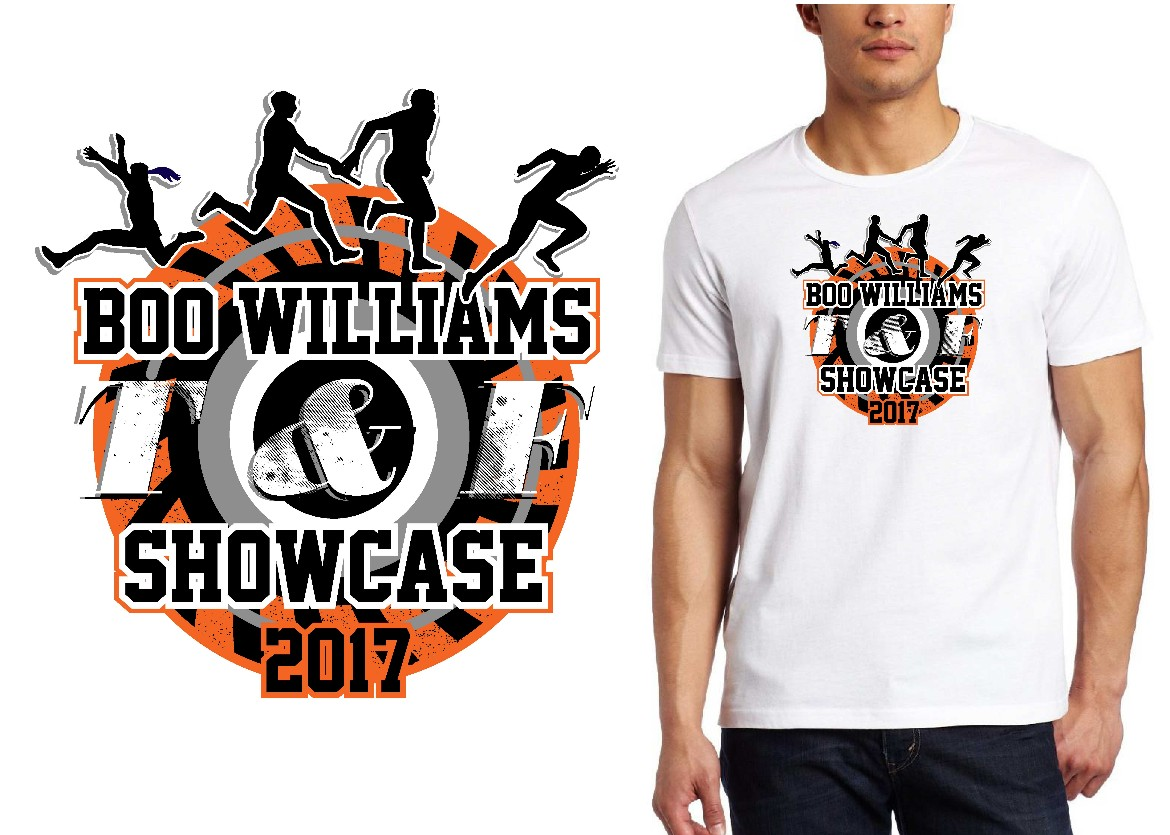 TRACK LOGO for Boo-Williams-T-F-Showcase T-SHIRT UrArtStudio