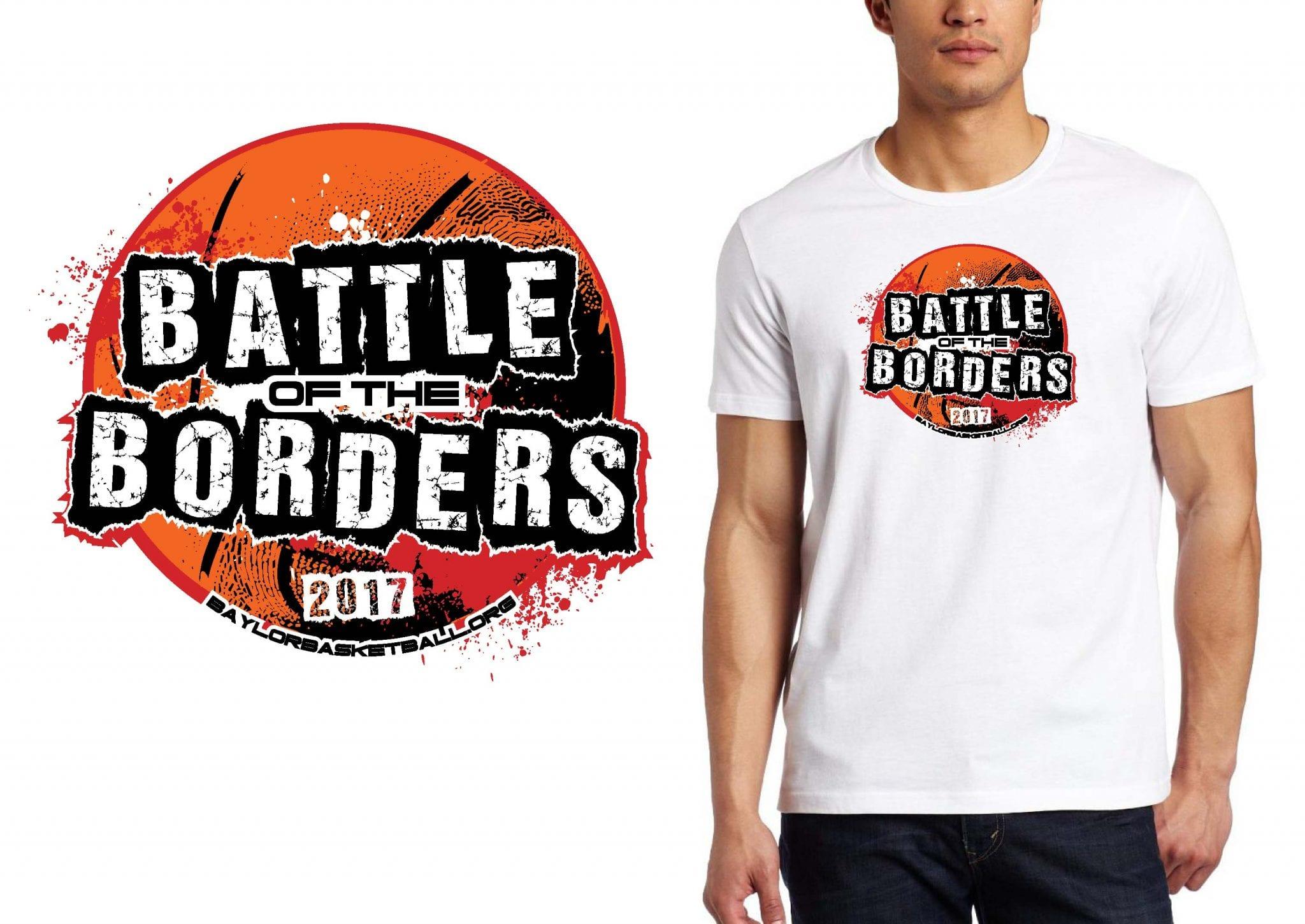 Basketball t shirt logo design badger youth wrestling for Wrestling tournament t shirt designs