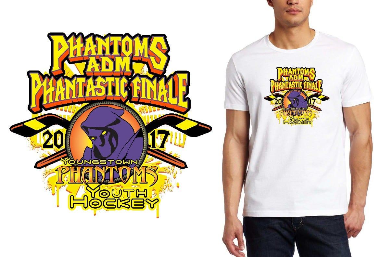 HOCKEY LOGO for Phantoms-Finals T-SHIRT UrArtStudio