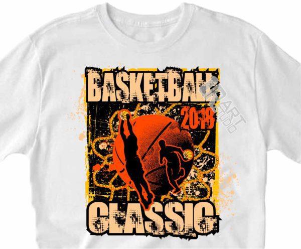 BASKETBALL CLASSIC 2018, VECTOR LOGO DESIGN DOWNLOAD