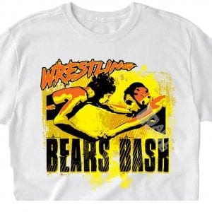 BEARS BASH WRESTLING 2018 VECTOR LOGO DESIGN FOR PRINT