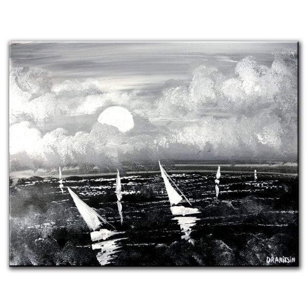 CHOSEN PATH seascape painting