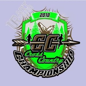 CROSS COUNTRY 2018 CHAMPIONSHIP 2ND logo
