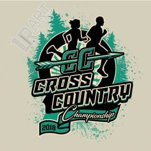 CROSS COUNTRY 2018 CHAMPIONSHIP 3rd logo